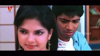 Ruchi romance with Ravi - Naa Allari Full Movie   Allari Naresh   Nikitha   Diya   V9 Videos