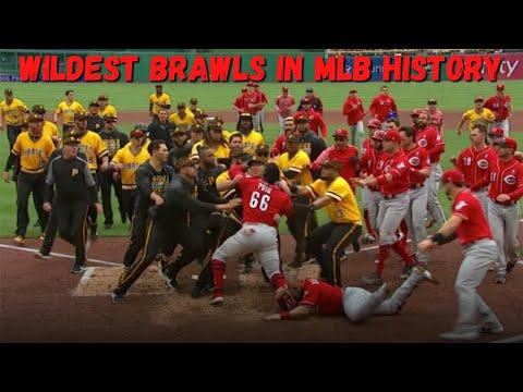 WILDEST Brawls in Major League Baseball History