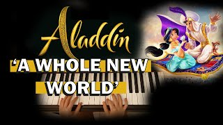 A WHOLE NEW WORLD PIANO COVER (Aladdin) 9 years old Kingsley Ong
