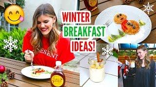 Healthy School Breakfast Ideas: Winter Edition! ❄