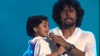 You Can't MISS This Video : Sonu Nigam's Son Singing Abhi Mujh mein kahin