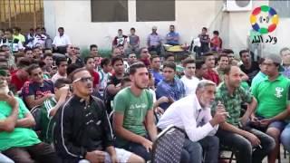 جماهير المصري البورسعيدي تشاهد مباراة فريقها أمام النصر للتعدين