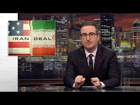 Iran Deal Last Week Tonight with John Oliver HBO