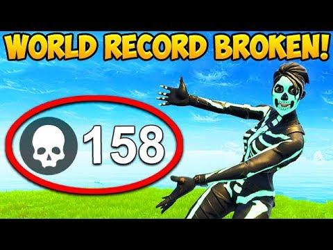 Xxx Mp4 158 KILLS IN 1 GAME WORLD RECORD BROKEN Fortnite Funny Fails And WTF Moments 352 3gp Sex
