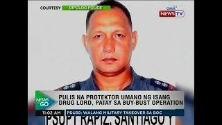 NTG: Pulis na protektor umano ng isang drug lord, patay sa buy-bust operation