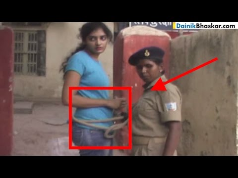 Xxx Mp4 Jharkhand Police Arrest Women Drag Her Around With Rope SHOCKING VIDEO 3gp Sex