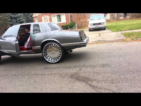 Monte Carlo buring rubber on 26s