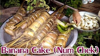 Asian Food for Khmer traditional cake - Num Chek in the Farmer