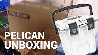 20QT Pelican Cooler Unboxing and Walkthrough