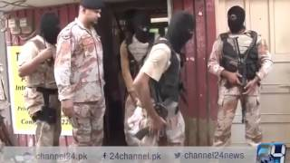 24 Report: Rangers operation in Karachi, the most wanted target killer arrested