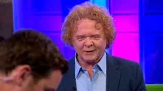 Mick Hucknall Simply Red Shine On BBC The One Show 2015