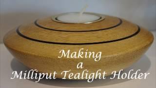 #15 Making a Milliput Tealight Holder
