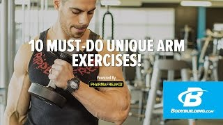 Alex Savva's Must-Do Arm Exercises! - Bodybuilding.com