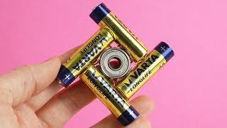 3 DIY Battery Fidget Spinner Hacks!