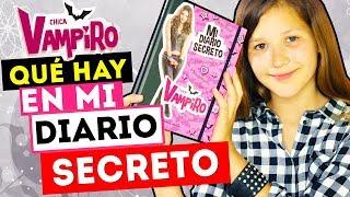 ¿QUÉ HAY EN MI DIARIO SECRETO CHICA VAMPIRO? | SORTEO DE DIARIOS FIRMADOS! Daniela Golubeva