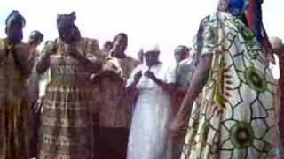 Elder women's group - traditional chant