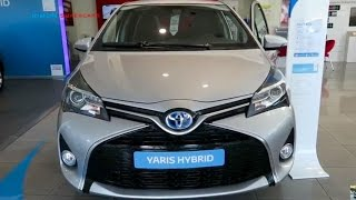 NEW 2017 Toyota Yaris Hybrid - Exterior and Interior