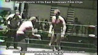 Now on The S.S.W. Network Rare & Historic 1970s East Tennessee Wrestling