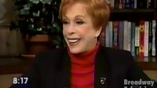 Putting It Together's Carol Burnett interviewed by Katie Couric (NBC Today 08-Nov-99(