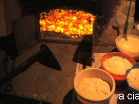 Pieczenie chleba w piecu