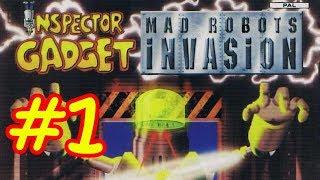 Inspector Gadget: MAD Robots Invasion (PS2) Part 1 - Go Gadget Go