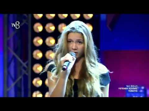 Türkiye nin Shakira sı Aleyna Tilki Yetenek Sizsiniz Türkiye 2014