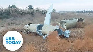 Video shows two Iranian missiles hitting Ukrainian plane | USA TODAY