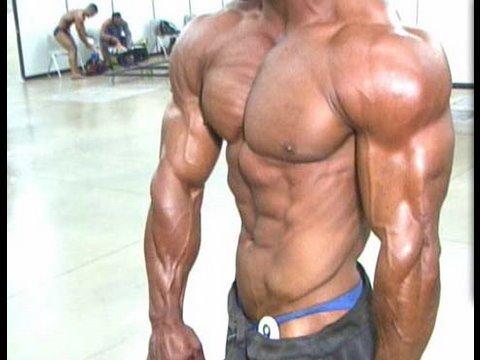 Summer Muscle Bodybuilder Kevin Perod