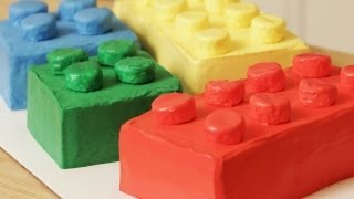 HOW TO MAKE A LEGO CAKE - NERDY NUMMIES