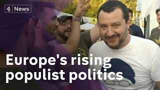Face to face with Matteo Salvini, Italy