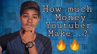 Vlog #2 - How much money a YouTuber make...?🔥🔥