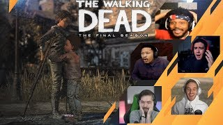 Gamers Reactions to Clementine Alive and Well | The Walking Dead: [S4][E4] Take Us Back