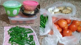 How to store vegetables in fridge/ Kitchen tips