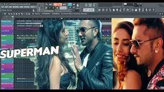 How to Produce SUPERMAN - ZORAWAR By Yo Yo Honey Singh in FL Studio .