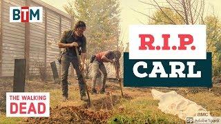 """The Walking Dead Season 8 Episode 9 Ending Scene """"last words of Carl"""" (HD) TWD 8x09 """"Honor"""""""