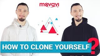 How to clone yourself in a video