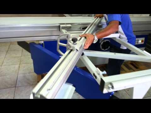 Esquadrejadeira de Precisão Giben GD 405M Sliding Table Saw Giben