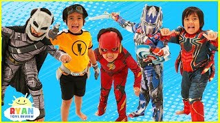 Download Kids Costume Runway Show Pretend Play with Disney Superheroes, Pj Masks, Rusty Rivets!