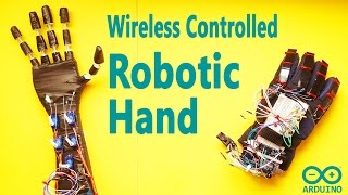 How to Make Arduino Wireless Controlled DIY Robot Hand | Low Cost