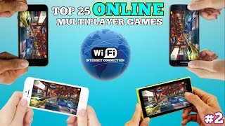 Top 25 online multiplayer games for Android/iOS via WiFi (INTERNET CONNECTION) #2