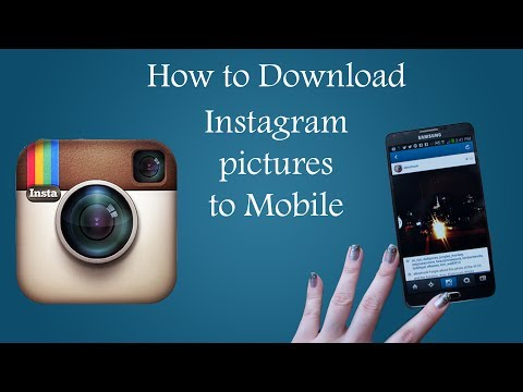Instragram: How to download photos on Mobile