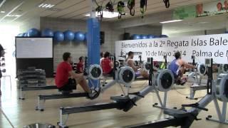 2ª Regata Remo Indoor Islas Baleares, categoría masculina, 10-19 y 20-29