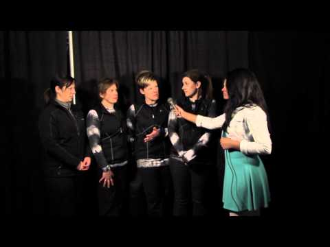 Xxx Mp4 2014 USA Curling Nationals Interview With Team Amy Anderson 3 2 14 3gp Sex
