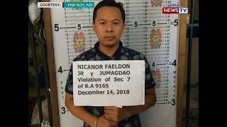 SONA: Anak ni BuCor Chief Nicanor Faeldon, kabilang sa mga hinuli sa umano
