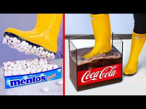 Experiment Coca Cola VS Mentos