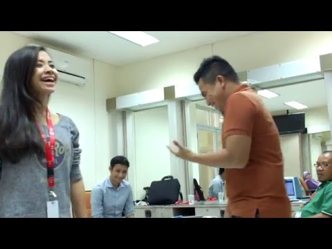 SHIHA VOCAL PRACTICE WITH ADIBAL- DONDANG DENDANG, D'ACADEMY ASIA 25122015 FULL HD