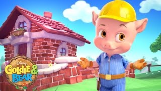 The Pigs Places   Goldie & Bear and the Magic Map   Disney Junior