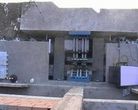 Rapolla seismic isolated building Potenza Italy