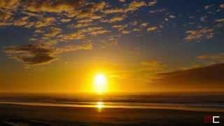 Sunset Timelapse over the Ocean