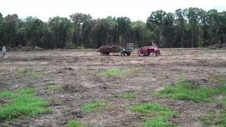 DiMeo Farms New Land Clearing - Starting Organic Blueberry Farm